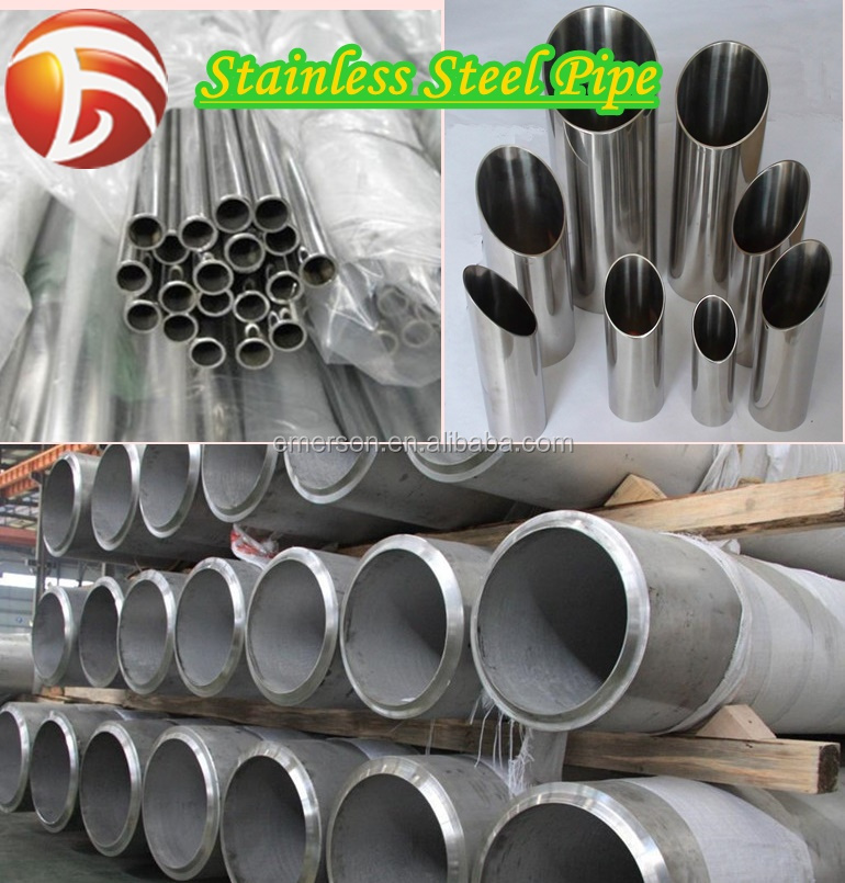 6mm ASTM 304 310 310S 316 316L Seamless Stainless Steel Pipe Tube