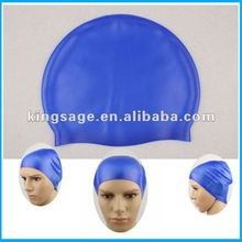 skid-proof customized design funny printing silicone swimming cap