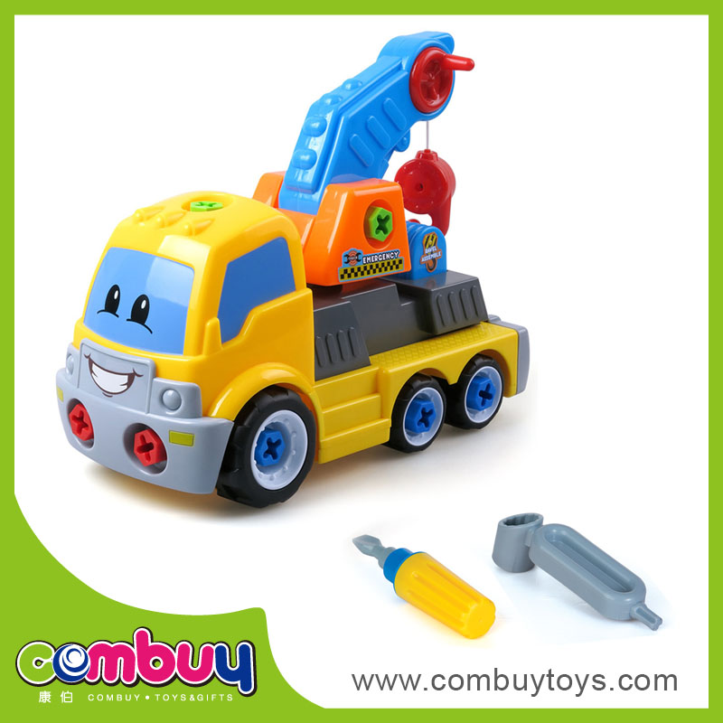 New product diy cartoon toy car battery assembly line