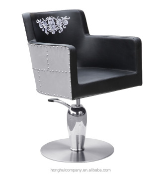 Fashion design styling chair with embroidery backreat wholesale barber supplies H-A304