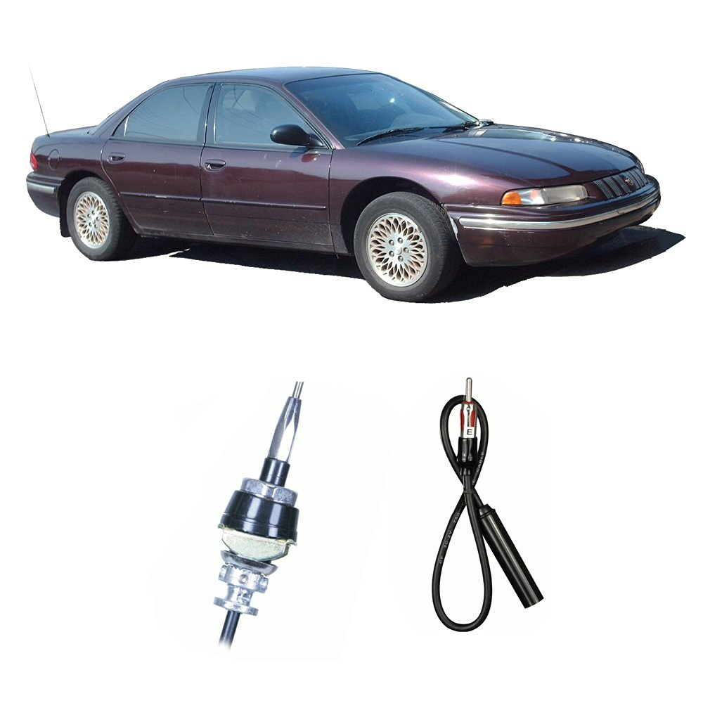 1997 Chrysler Lhs Radio Wiring Library 1998 Concorde Diagram Get Quotations Fits 1993 Factory Oem Replacement Stereo Custom Antenna