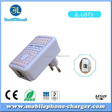 High power supply 15W 3.1A USB wall charger EU type plug USB travel charger from Zhongshan Jiale manufacturer