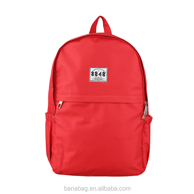 Good Quality Red Color Travel School Unisex Waterproof Backpack Cover