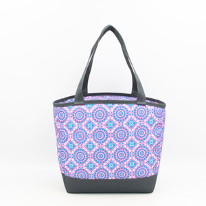 Women portable insulated customized lunch cooler bag