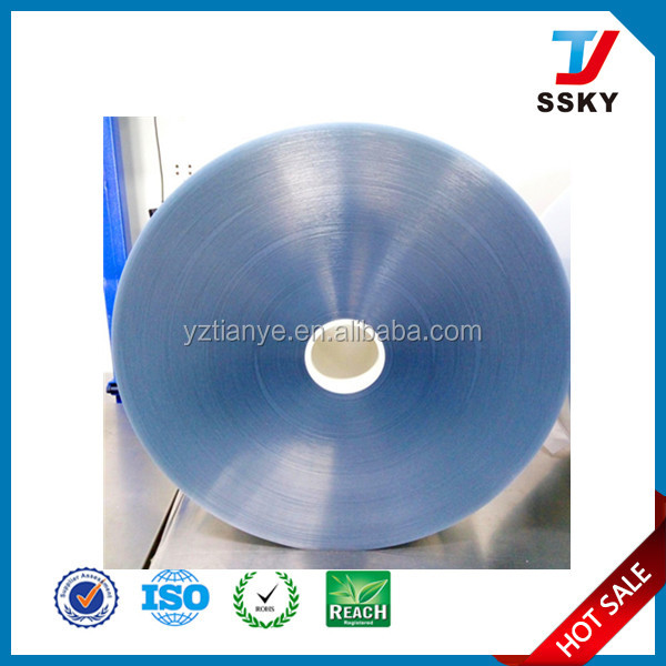 Barrier PVC PVDC blister coated film pvc pvdc film manufacturer
