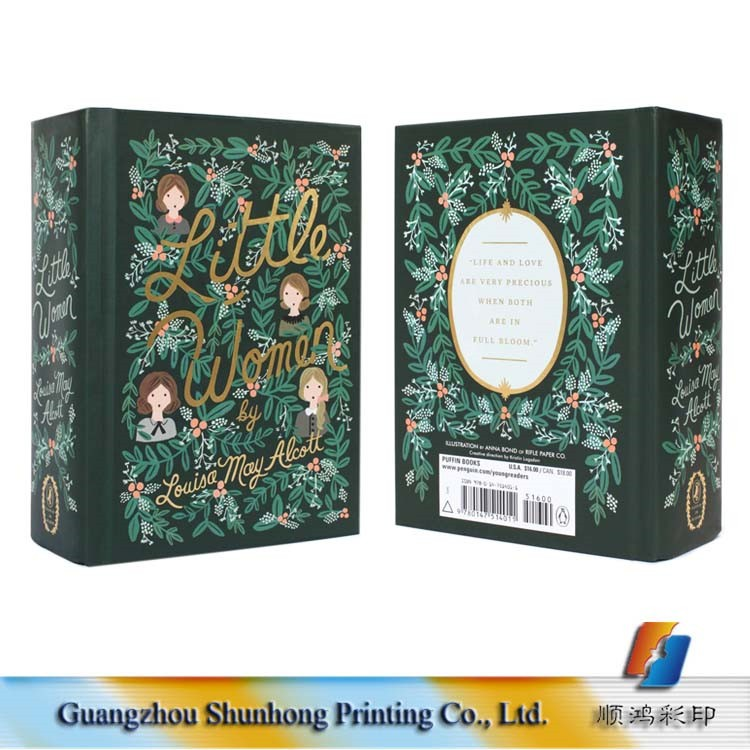 Hotsale Hot Stamping Foil Logo Thick Hardcover Story Children Book Printing, Manual Book Binding Wholesale