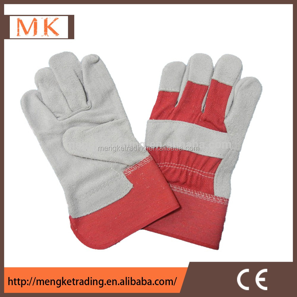 leather labour gloves