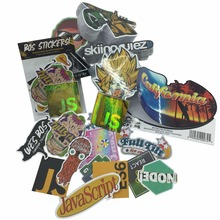 Print die cut vinyl custom stickers