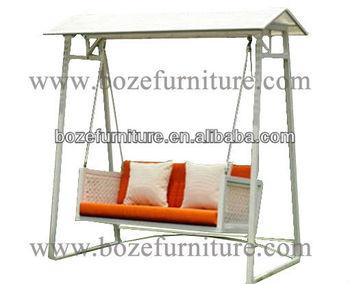 PE Rattan Balcony Hanging Chairs/ Patio Chairs