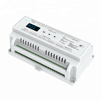 Skydance D24 Din Rail 24 Channels Dmx Decoder - Buy 24 Ch Din Rail Dmx,24  Channel Dmx Decoder,Led Dmx Decoder Led Driver Product on Alibaba com