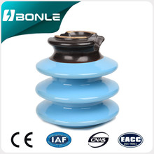 Overhead Line Accessories High Voltage Application And Porcelain Material Insulators