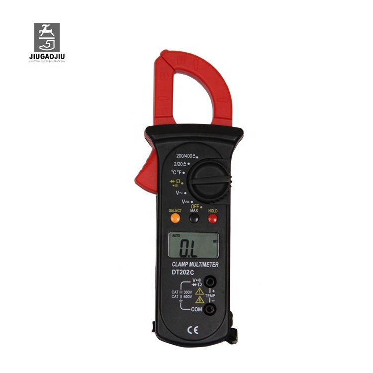 DT202 true rms ac dc digital clamp meter ราคา