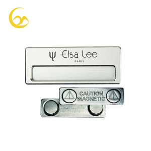 Wholesale Magnet Pin Badge Custom Metal Name Badges