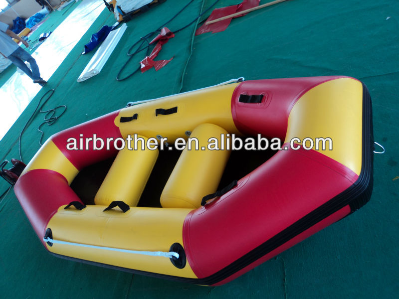hot sale folding PVC inflatable rafting boat/fishing boat