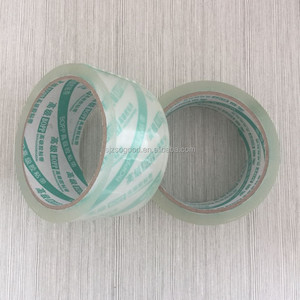 High Tensile Strength Lightweight BOPP Adhesive Clear Transparent Tape For Carton Box