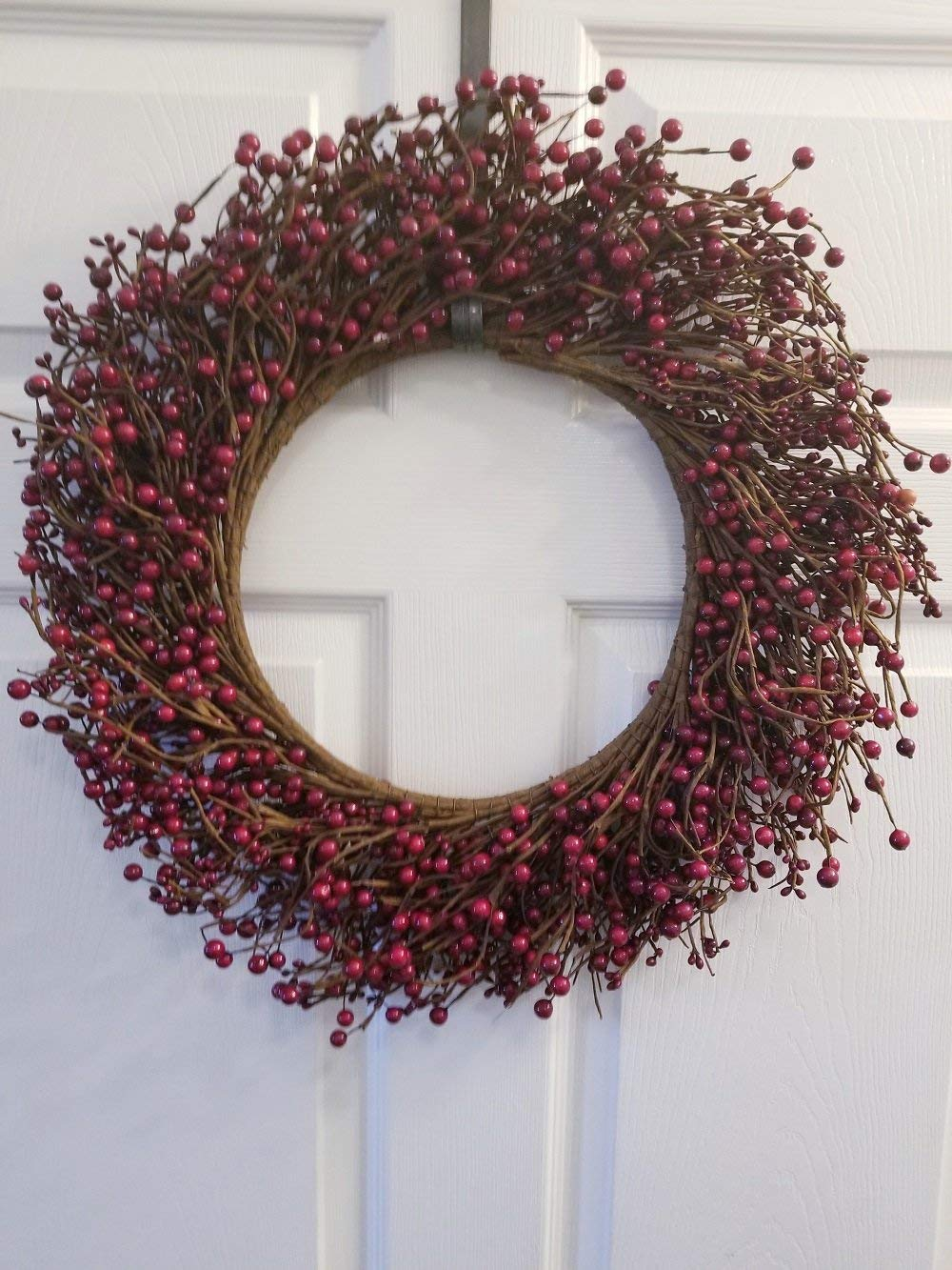 "Pip Berry Combo Wreath 18"" Red"
