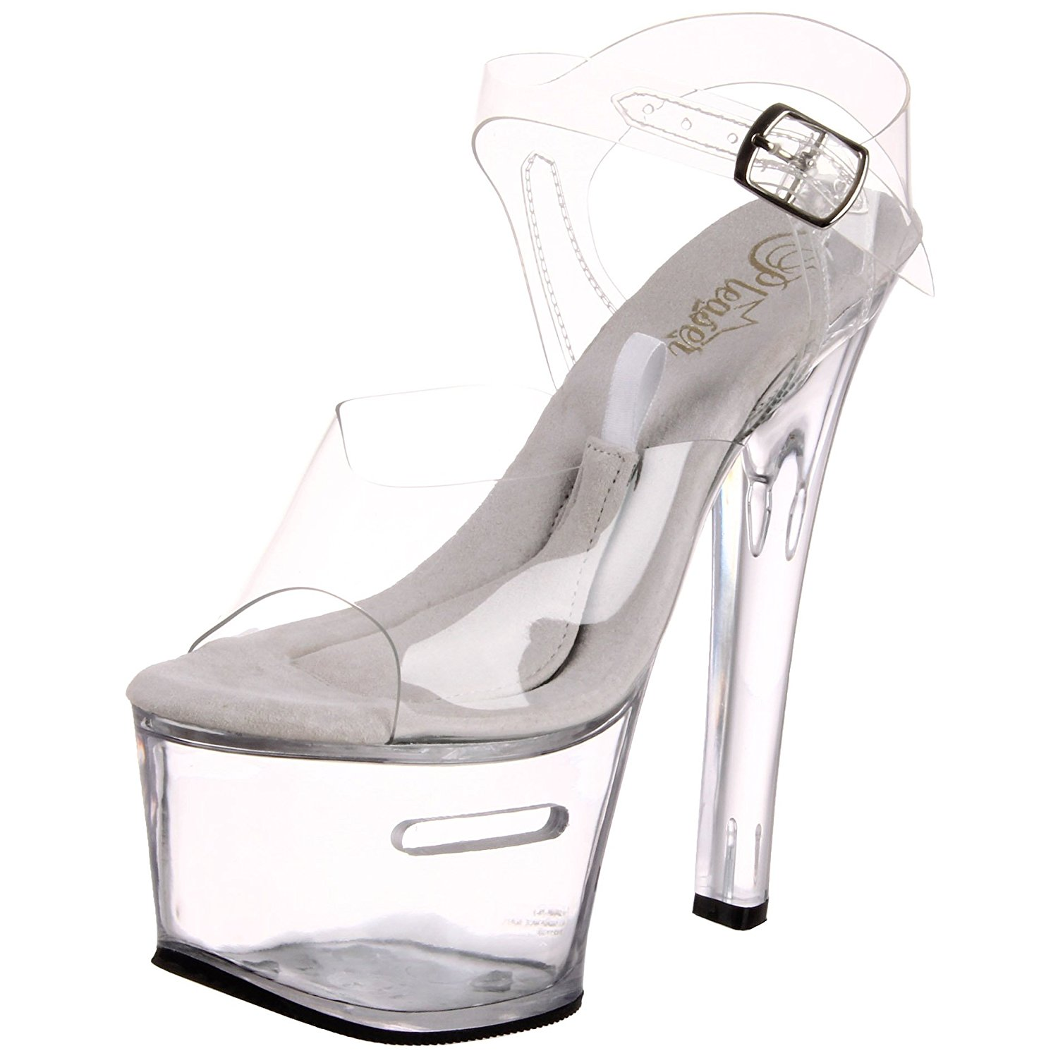 b691d5c269d Get Quotations · Womens TipJar Sexy Dancer Shoes High Platform Exotic Shoes  Stripper Shoes Clear
