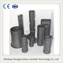High thermal conductivity SiSiC Ceramic sic radiation pipe