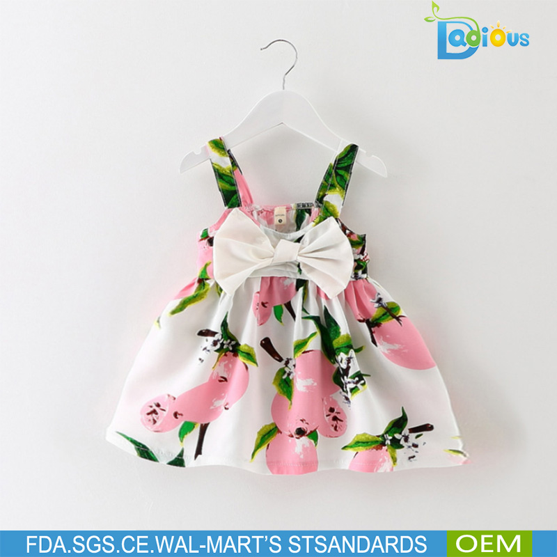 CANTON FAIR Selling Newborn Baby Girl Clothes Sleeveless Dress