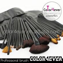 32 pcs ODM / OEM Make Up Brushes For Beautician taklon makeup brush
