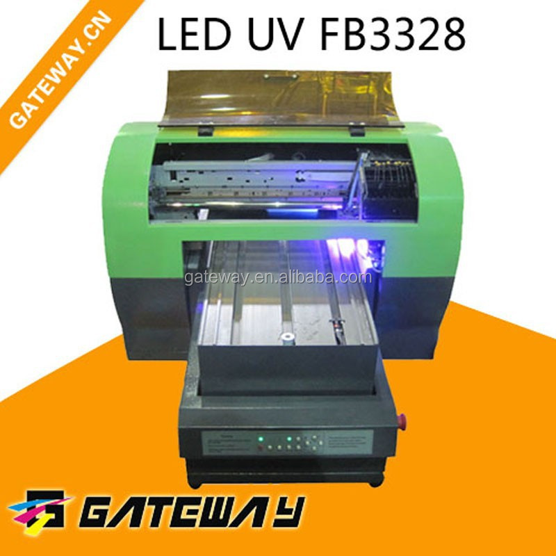USB business card printing machine/smart id card UV printer/UV digital 3D printer for plastic pvc card