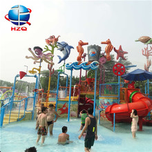 Fiberglass products decorative ide+fiberglass twister aqua park water slide