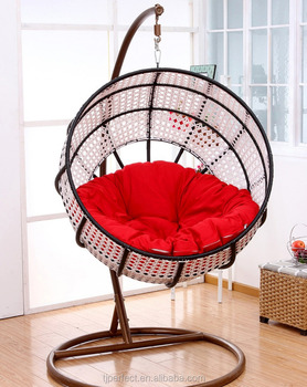 Outdoor Rattan Adult Hanging Egg Swing Chair Nest Jhula Garden Swing For  The Dacha