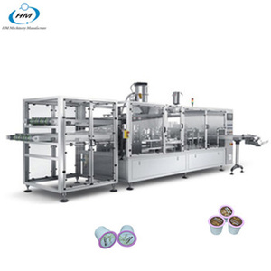 high speed 4 lanes coffee capsules filling & sealing machine with good quality
