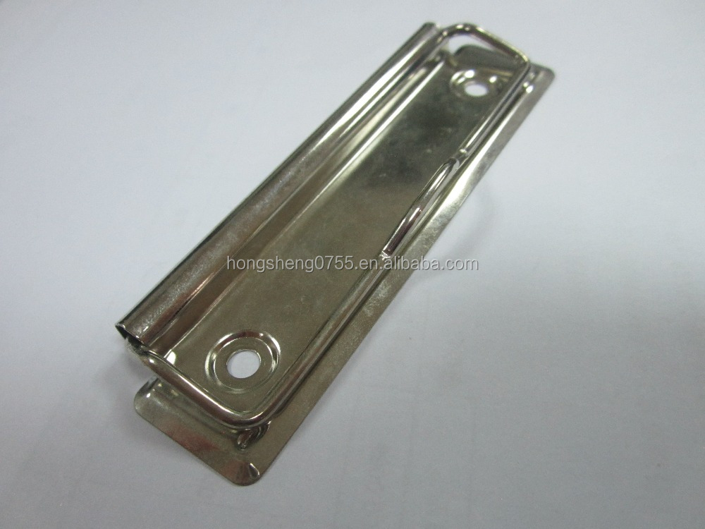 Shiny nickle binder clip, metal clip board clip for sale