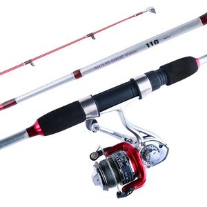 Low MOQ rod and reel set fishing rods with spinning reel