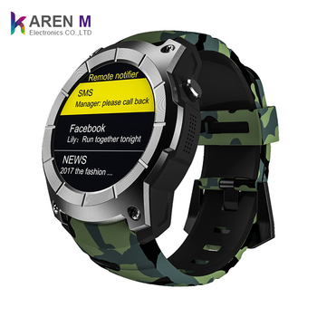 b3bbbb1fa S958 GPS Smart Watch Heart Rate Monitor Sport Waterproof SIM Card Smartwatch  for IOS Android Phone