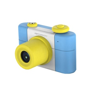 Pop product christmas gift for kids children digital action camera with cartoon design