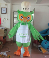 HI CE customized chef owl mascot costume for sale