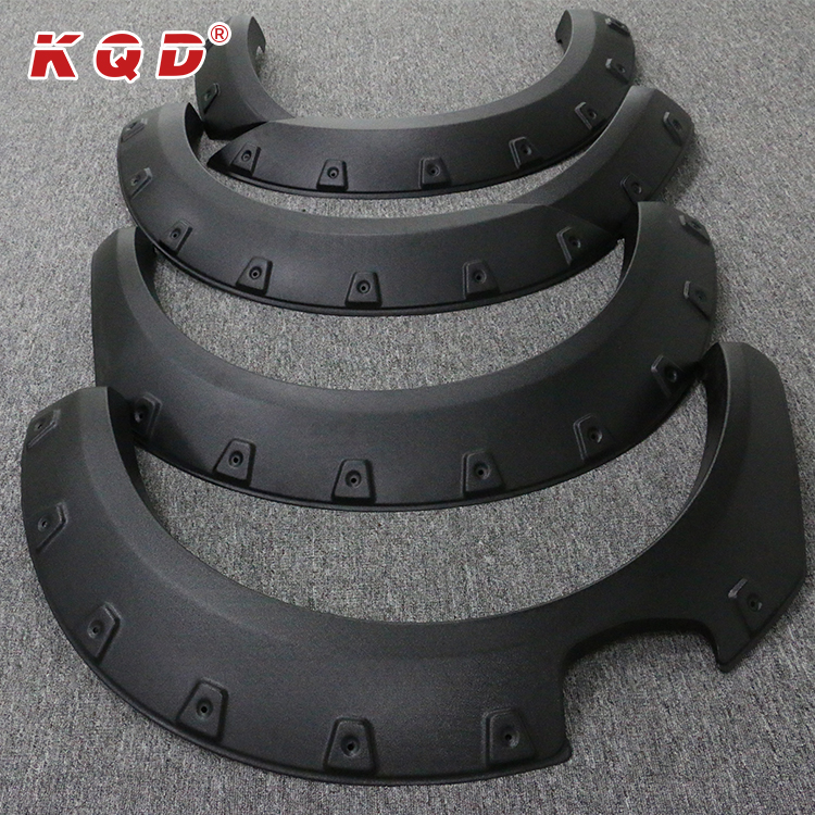 Manufacture price perfect fitment ABS wheel arch fender flares for ranger 2015~on