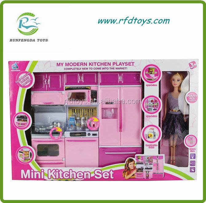 bambini fai da te giocattoli giocattoli di cucina cucina giocare ... - Giochi Di Cucina Di Barbie