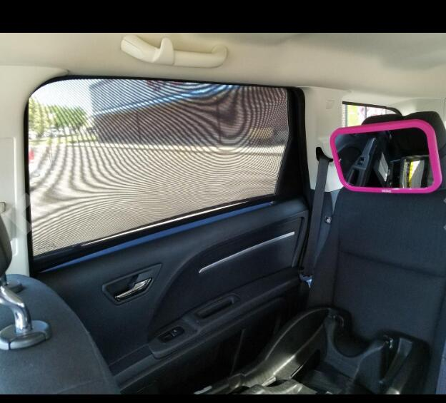 Universal Fit Baby Car Side Window <strong>Sun</strong> Shade with Travel E-Book (Pack of 2)