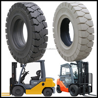 top quality China cheap parts 18 inch Toyota forklift solid tires 5.00-8 with REACH certificate