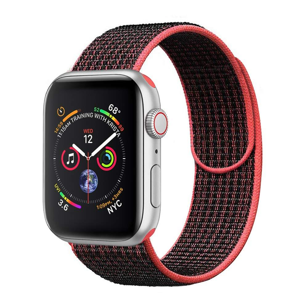 Alibaba.com / Sport Nylon Loop Watch Band For Apple Watch 38mm 40mm 42mm 44mm