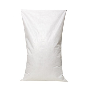 Polypropylene 25 50kg white pp woven sacks packing bag for grains and corn manufacturer
