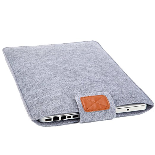 Alibaba China Wholesale Universal 15 Inch Felt Laptop Sleeve