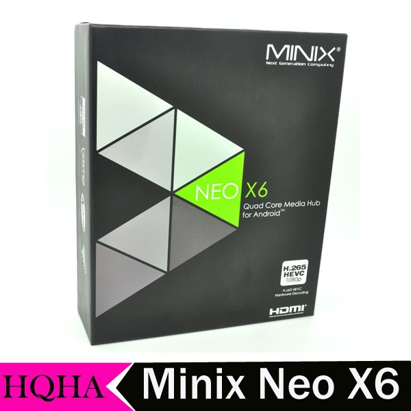 Original MINIX NEO X6 Android TV Box Amlogic S805 Quad Core 1G RAM 8G ROM Media Player
