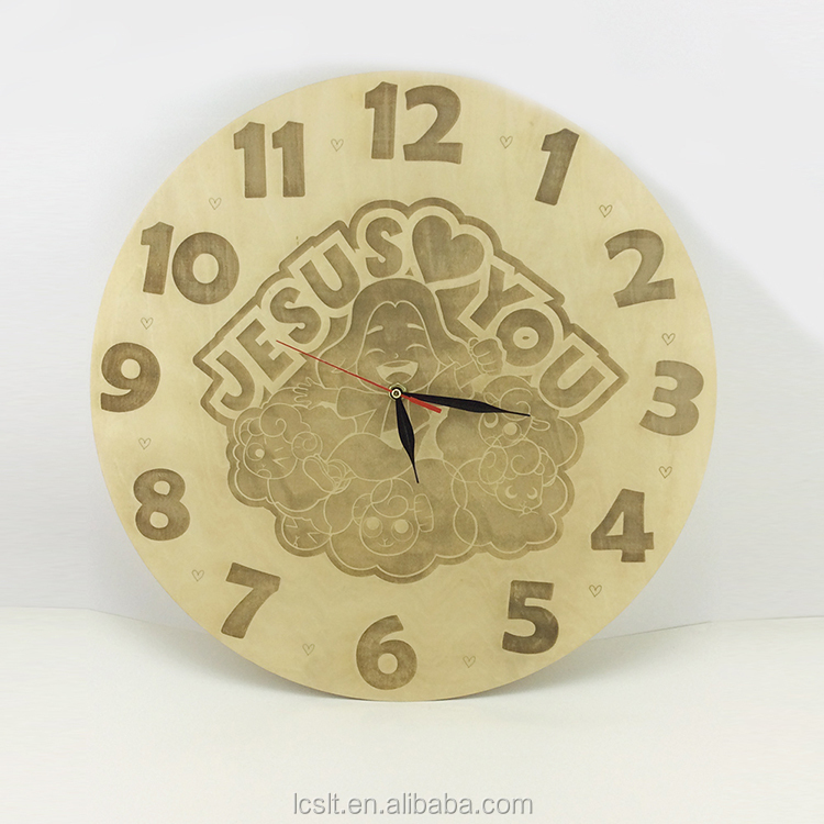 Wall Clock Unfinished Wood Crafts, Wall Clock Unfinished Wood Crafts ...