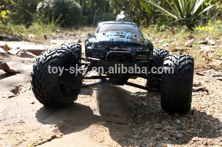 Hot RC Car New 1:12 Scale 40KMH+ 2.4GHz Supersonic wild challenger turbo electric 4wd rc remote control truck car toy