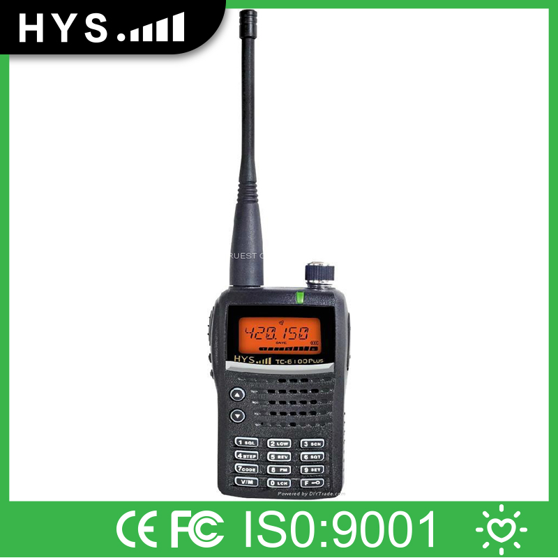 Best Quality PLD/FRS/PMR Shift Portable Ham Radio Transceiver TC-6100PLUS