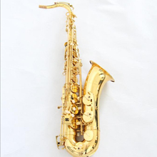 Sax <span class=keywords><strong>Tenor</strong></span> Bb tone Messing Chinese Goud Gelakt Tenorsaxofoon (FTS-100)