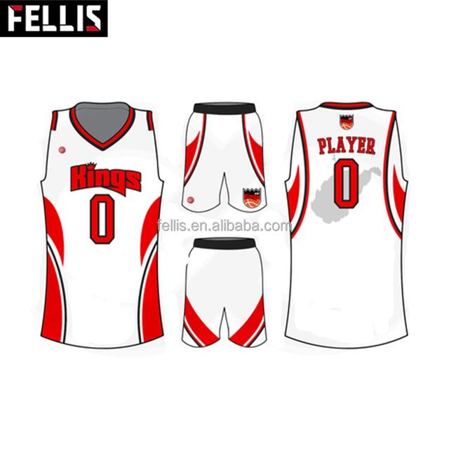 Basketball Uniform Best Latest Custom Sublimation Blank Reversible Dry Fit  Basketball Jersey Design 2017 Cheap Wholesale 961fd8714