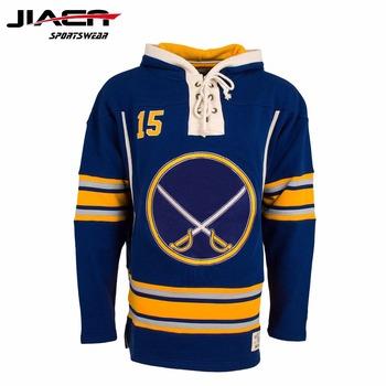 7fd2d503b93a Custom Lace Up Hoodies And Lace Up Hockey Sweatshirts - Buy Custom ...