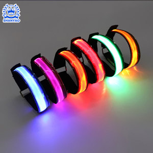 China innovative product reflective usb rechargeable led armband for running at night