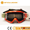 Chinese motocross bikes eyewear grey lens ATV racing mx goggles with roll off