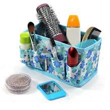 1 pc multifuncional saco de cosméticos de maquiagem de beleza Floral New Folding maquiagem cosméticos caixa de armazenamento
